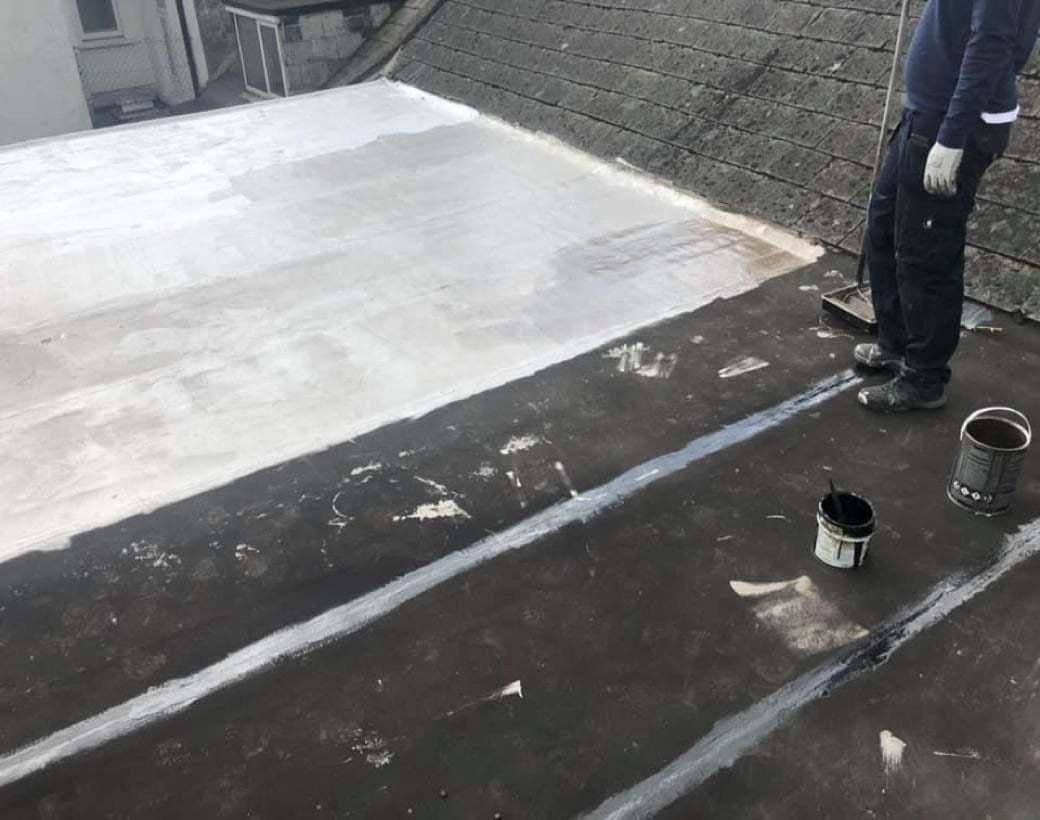Flat Roof Repair Coating